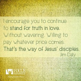 stand for truth in love
