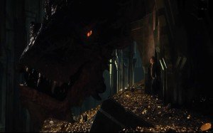 The-Hobbit-Dragon in gold
