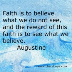 faith-Augustine quote