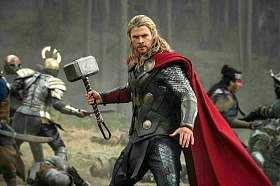 Thor faces rock beast