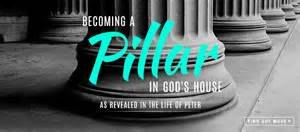 pillar in God's house